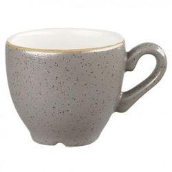 Filiżanka espresso 100 ml, szara | CHURCHILL, Stonecast Peppercorn Grey