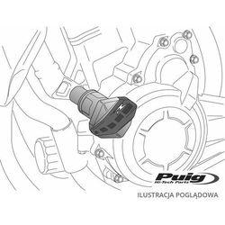 Crash pady PUIG do Suzuki GSXR 600 01-03 / GSXR750 00-03 (czarne)