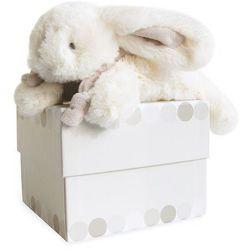 Pluszowy królik w kolorze beżowym mały