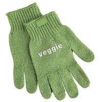 Rękawice ochronne, Rękawice do czyszczenia warzyw, zielone | CONTACTO, 6537/006