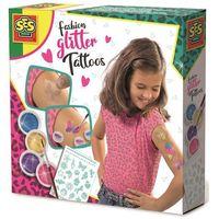 Kreatywne dla dzieci, Tatuaże brokatowe