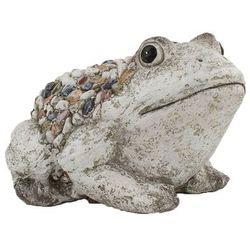 Dekoracja ogrodowa Żabka z kamykami, 30 x 19 x 23 cm