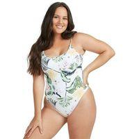 Stroje kąpielowe, strój kąpielowy ROXY - Roxy Bloom One Piece Fa Bright White Praslin (WBB6) rozmiar: XS