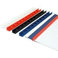 Pozostały sprzęt biurowy, Listwy do bindowania zatrzaskowe Greenbindery Argo, niebieskie, 10 mm, 50 sztuk, oprawa do 80 kartek - Rabaty - Porady - Hurt - Negocjacja cen - Autoryzowana dystrybucja - Szybka dostawa