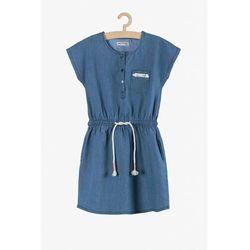 Niebieska sukienka dla dziewczynki 4K3811 Oferta ważna tylko do 2023-06-02