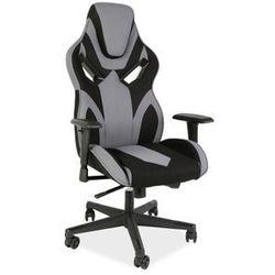 Fotel Signal Cobra II gamingowy czarny/szary