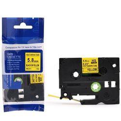 Rurka termokurczliwa Brother HS2-611/Hse-611 żółta 6mm x 1.5m ø 1.7mm-3.2mm - zamiennik   OSZCZĘDZAJ DO 80% - ZADZWOŃ!