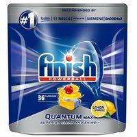 Kostki do zmywarek, FINISH Powerball Quantum Max tabletki do mycia naczyń w zmywarkach Lemon Sparkle 36szt