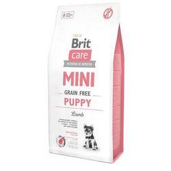 Brit karma z jagnięciną dla szczeniąt miniaturowych ras Care Mini Grain Free, 7 kg