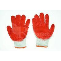 Rękawice ochronne, Rękawice robocze WAMPIRKI L czerwone (100 par) - 100par \ 9 ||L