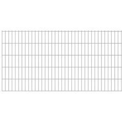 Panel ogrodzeniowy 2008x1030 mm, srebrny