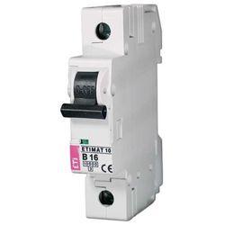 Wyłącznik nadprądowy ETIMAT10 1P 10kA B6A 002121712 ETI