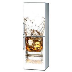 Mata magnetyczna na lodówkę - Whiskey na białym tle 4293