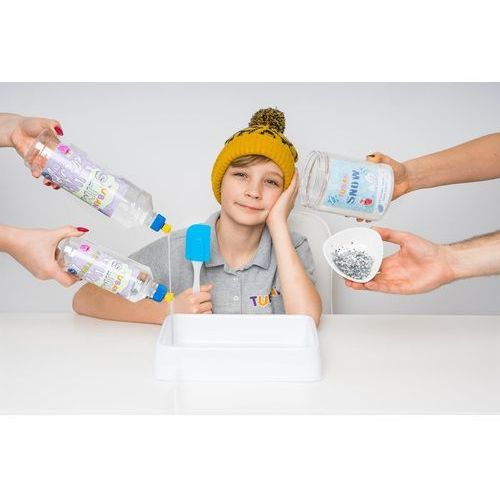 Kreatywne dla dzieci, TUBAN ZESTAW SUPER SLIME XL ZŁOTY GOLD BROKAT