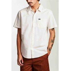 koszula BRIXTON - Charter Oxford S/S Wvn Off White (OFFWH) rozmiar: L