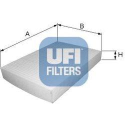 Filtr, wentylacja przestrzeni pasażerskiej UFI 53.112.00
