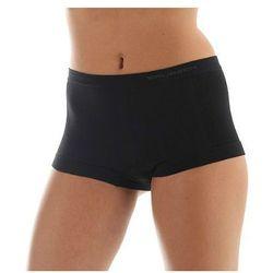 Bokserki damskie Brubeck Comfort Wool - czarny
