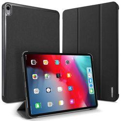 DUX DUCIS Domo składany pokrowiec etui na tablet z funkcją Smart Sleep podstawka iPad Pro 11 2018 czarny - Czarny