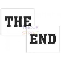 NAKLEJKI NA BUTY THE END 2szt
