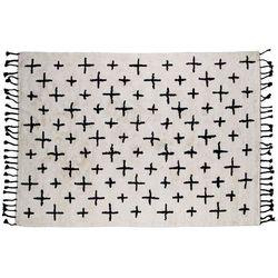 Be Pure Dywanik More bawełniany 170x240, biało-czarny 800712-O
