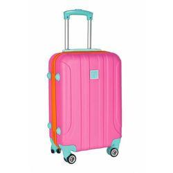Średnia walizka PASO różowa 4Y38DN Oferta ważna tylko do 2023-03-03