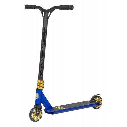 Hulajnogi, Hulajnoga wyczynowa BikeStar STUNT 110 niebiesko- złota semi - professional