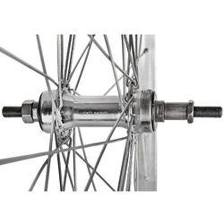 Koło 27 tylne wolnobieg aluminiowe V-BR QUANDO srebrne