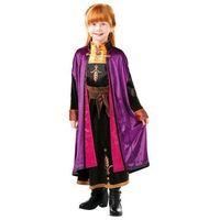 Przebrania dziecięce, Kostium Frozen 2 Anna Deluxe dla dziewczynki - Roz. L