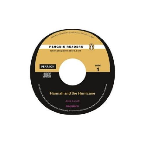 Książki do nauki języka, Penguin Readers, Poziom 0 Easystarts:Hannah and the Hurricane plus Audio CD (opr. miękka)