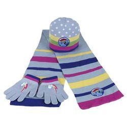 Komplet: czapka jesienna / zimowa, rękawiczki i szalik My Little Pony