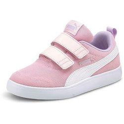 Puma Sneakersy Courtflex v2 Mesh V Inf 371759 08 Różowy