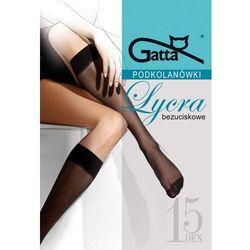 Podkolanówki Gatta Lycra 15 den A'2 ROZMIAR: uniwersalny, KOLOR: beżowy/golden, Gatta