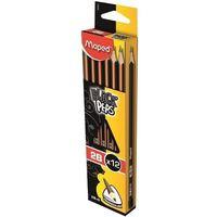 Ołówki, Ołówek blackpeps 2b 12 szt pud. z zaw. (12) - MAPED