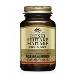 Reishi Shiitake Maitake ekstrakty 50kaps