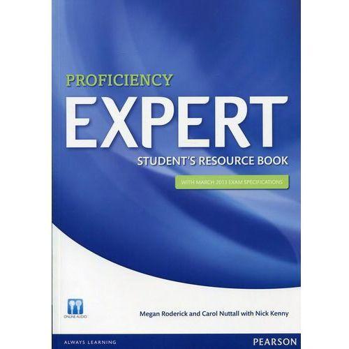 Książki do nauki języka, Proficiency expert Student's resource book (opr. miękka)