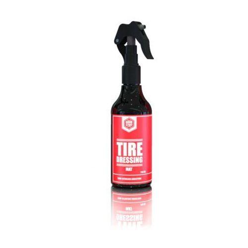 Środki czyszczące do opon i felg, Good Stuff Tire Dressing Mat 250ml matowy dressing do opon
