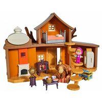 Pozostałe zabawki, Masza i Niedźwiedź Dwupoziomowy dom Niedźwiedzia