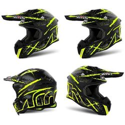 Kask AIROH TERMINATOR OPEN VISION CARNAGE Yell. GLOSS