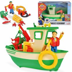 Simba strażak sam łódź rybacka charliego z figurką