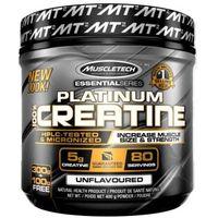 Kreatyny, MuscleTech Creatine Platinum 100% Creatine 400 g