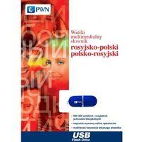 Słowniki, encyklopedie, Wielki multimedialny słownik rosyjsko-polski polsko-rosyjski na pendrive (opr. kartonowa)