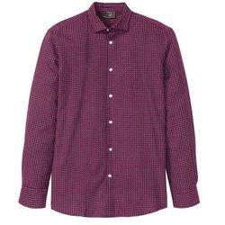 Koszula dżinsowa z długim rękawem Regular Fit bonprix ciemnoniebieski