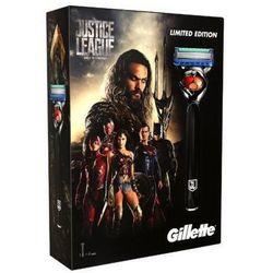 Gillette zestaw Justice League Fusion ProGlide maszynka + 3 głowice