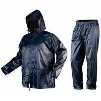 Kurtki i kamizelki ochronne, Komplet przeciwdeszczowy kurtka z kapturem i spodnie rozmiar XL 81-800-XL