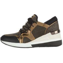 Michael Kors Scout Sneakers Brązowy Złoty 36 Przy zakupie powyżej 150 zł darmowa dostawa.