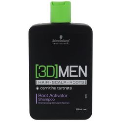 Schwarzkopf 3DMEN Root Activator szampon do włosów 250 ml dla mężczyzn
