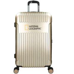 National Geographic Transit duża walizka na kółkach / 76 cm / poszerzana / Champagne Gold