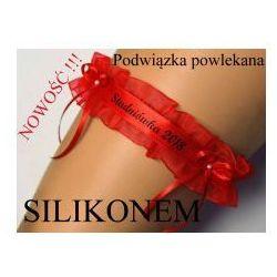 Podwiązka czerwona ENJOY Studniówka 2018 silikon