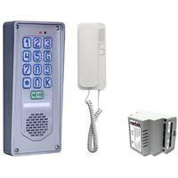 Domofony i wideodomofony, Zestaw domofonowy jednorodzinny z szyfratorem RADBIT NOV-BZ-V4