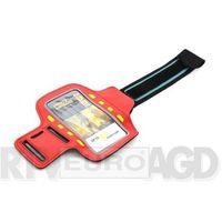 Etui i futerały do telefonów, Platinet Sports LED Armband 43708 (czerwony)